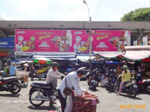 Advertising brand Koreno area market Nguyen Tri Phuong
